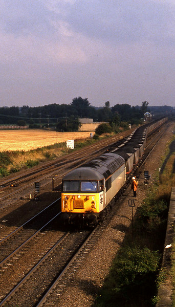 56078, Gascoigne Wood-South Milford Sidings, Monk Fryston, 21-9-94.