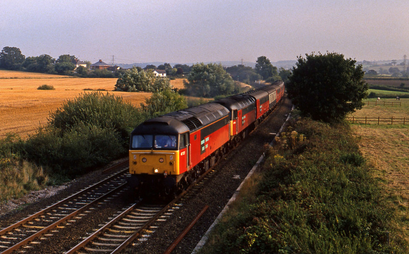 47727/47, up vans, Willand, near Tiverton, 1-9-94.