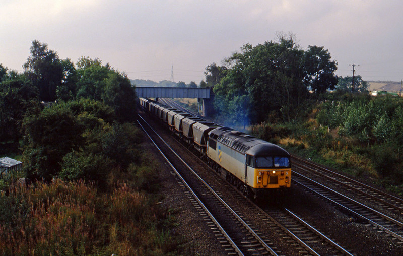 56087, down mgr empties, Monk Fryston, 21-9-94.