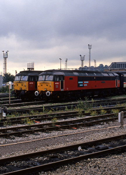47777/47779, stabled, Bristol Bath Road TMD, 14-9-94.