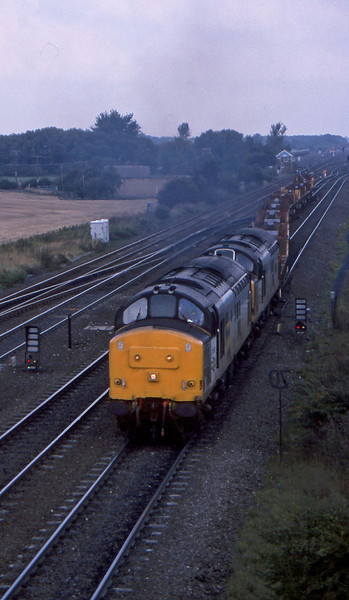 37697/37718, up steel, South Milford, 21-9-94.