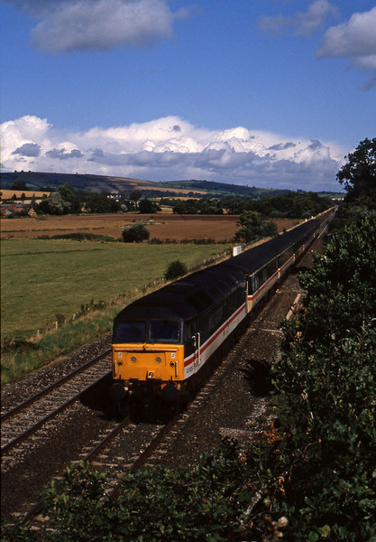47828, down passenger, Rewe, near Exeter, 10-9-94.