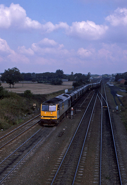 60059, up mgr to Milford Sidings, South Milford, 21-9-94.