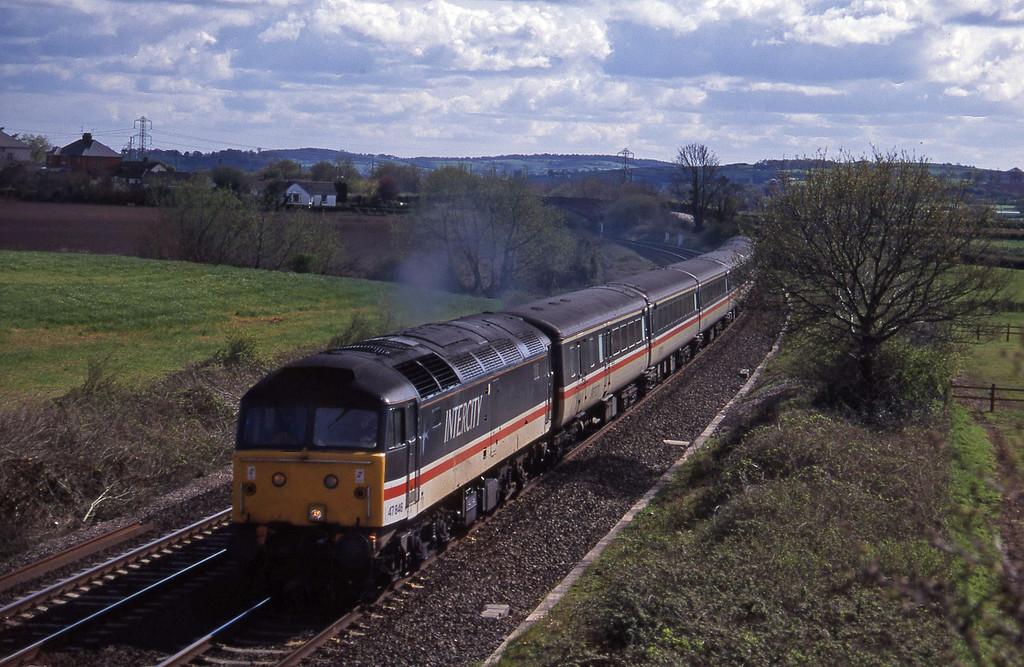 47846, 15.30 Exeter St David's-Sheffield, Willand, near Tiverton, 18-4-95.