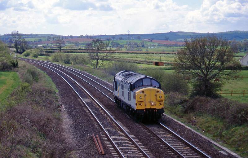 37042, up light, Willand, near Tiverton, 19-4-95.