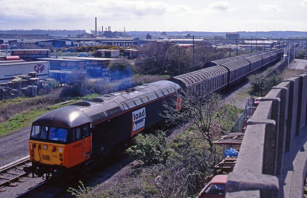 56050, 12.40 Avonmouth-Immingham, Hallen Marsh, Avonmouth, 7-4-95