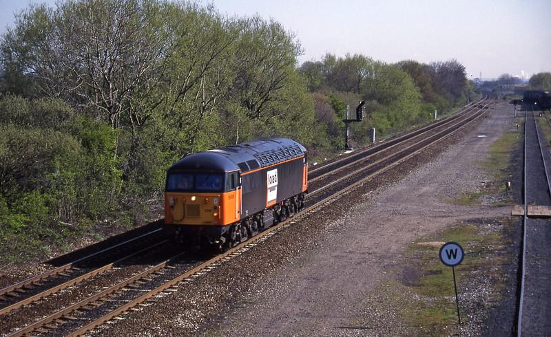 56106, up light, Stenson Junction, near Derby, 21-4-95.
