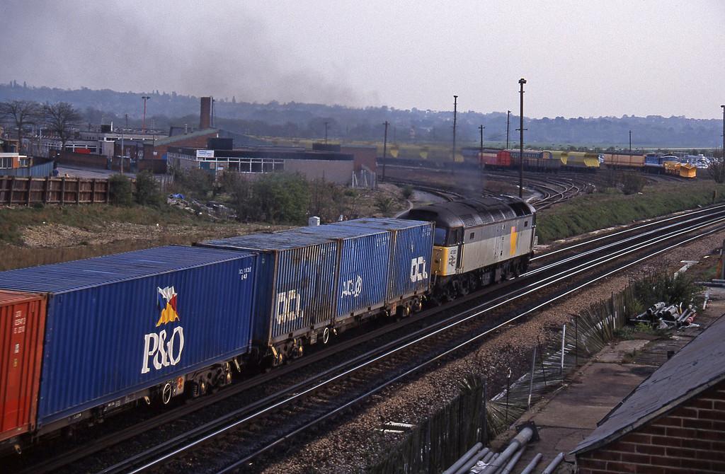 47312, down Freightliner, Eastleigh, 14-4-95.