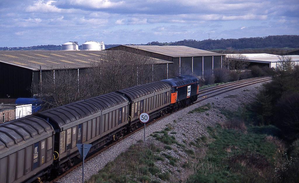 56050, 12.40 Avonmouth-Immingham, Hallen Marsh, Avonmouth, 7-4-95.