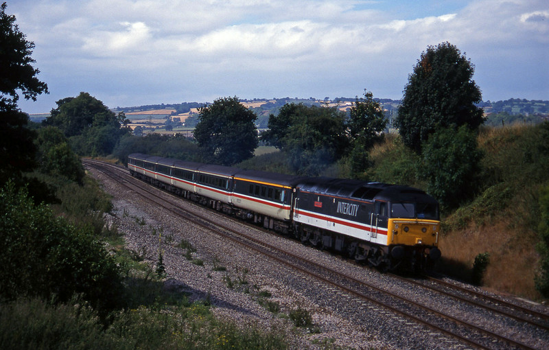 47845, 10.33 Paignton-Manchester Piccadilly, Whiteball, 12-8-95.