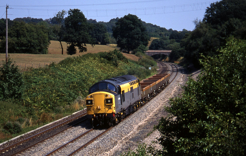 37098, 12.00 Westbury-Meldon Quarry, Whiteball, 15-8-95.