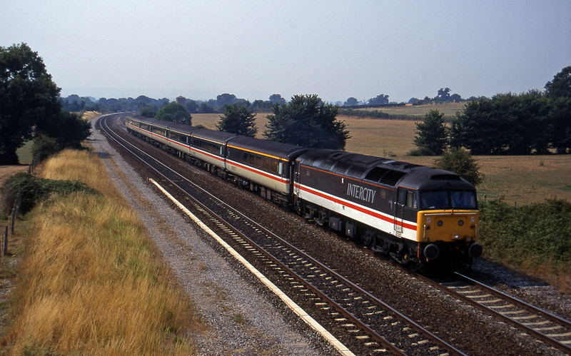 47847, 10.44 Plymouth-Manchester Piccadilly, Cogload, 17-8-95.