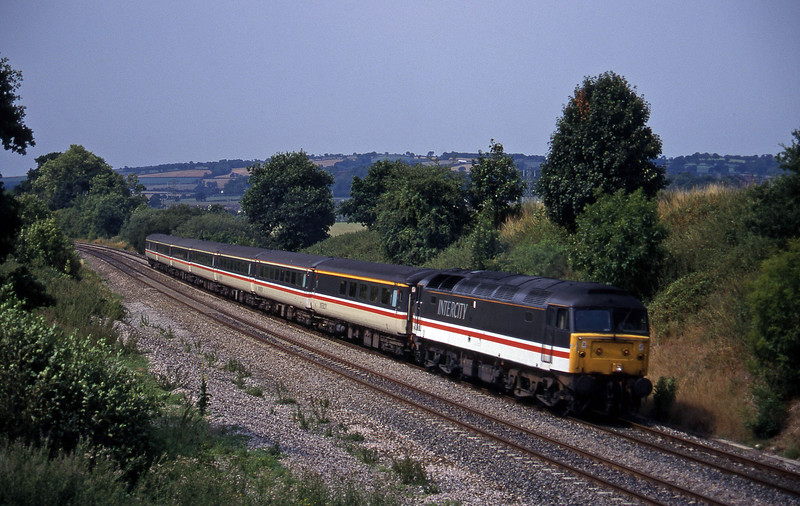 47818, 10.33 Paignton-Manchester Piccadilly, Whiteball, 5-8-95.