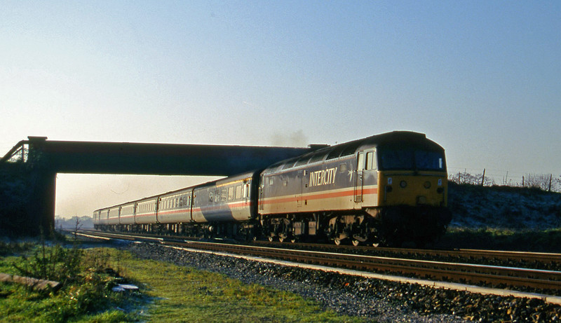47846, 10.44 Plymouth-Manchester Piccadilly, Cogload, 9-12-95.