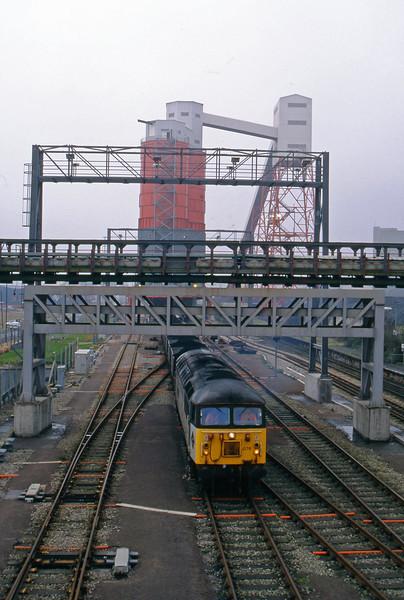 56076, Avonmouth Bulk Handling Terminal-Aberthaw Power Station, Avonmouth St Andrew's Road, 8-2-95.