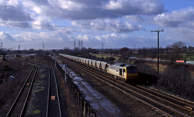60098, down mgr, Stenson Junction, near Derby, 17-2-95.