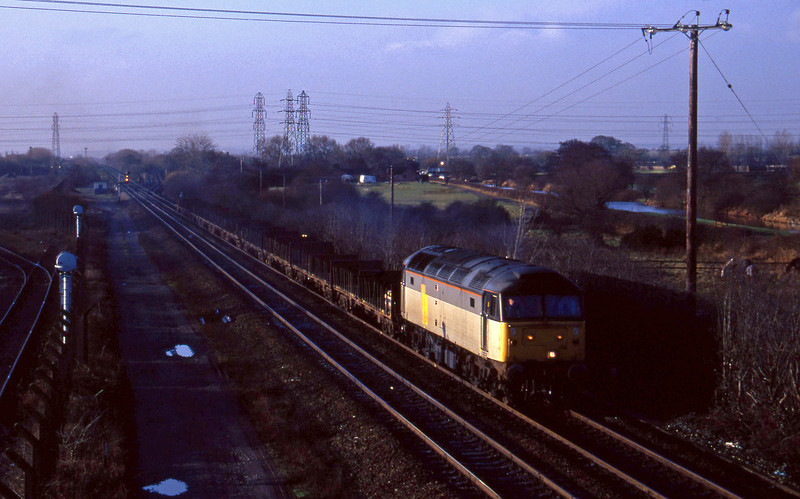 47258, Pengam-Lynemouth, Stenson Junction, near Derby, 6-1-95.
