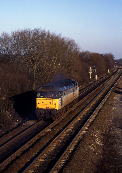 47224, light, south to north, Stenson Junction, near Derby, 6-1-95 .