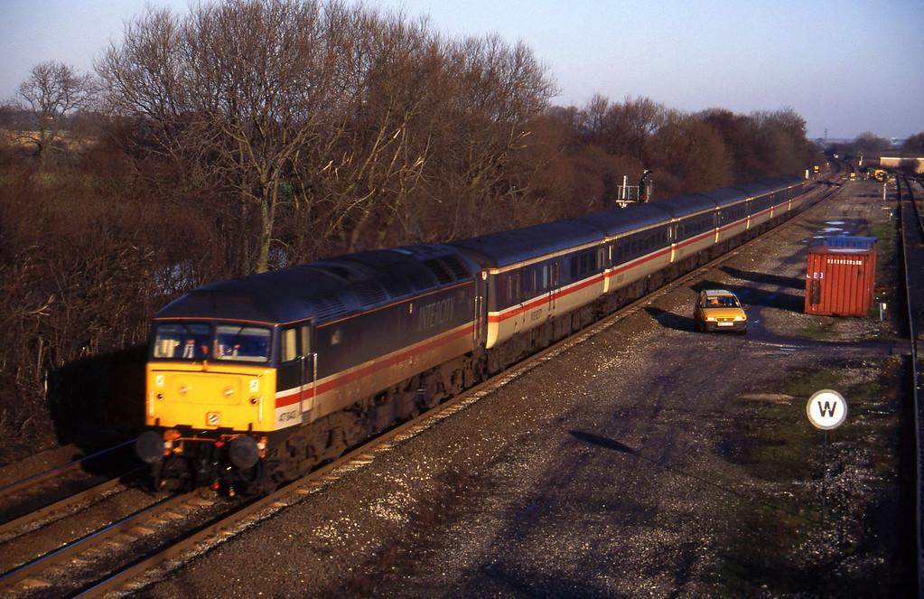 47843, up pass, Stenson Junction, near Derby, 6-1-95.