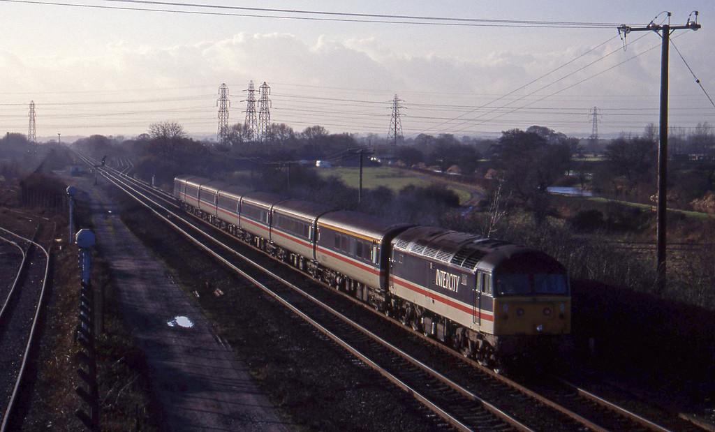 47818, down pass, Stenson Junction, near Derby, 6-1-95.