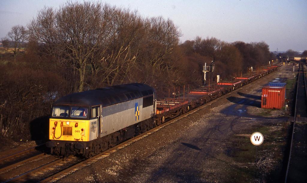 56065, Tees-Etruria, Stenson Junction, near Derby, 6-1-95.