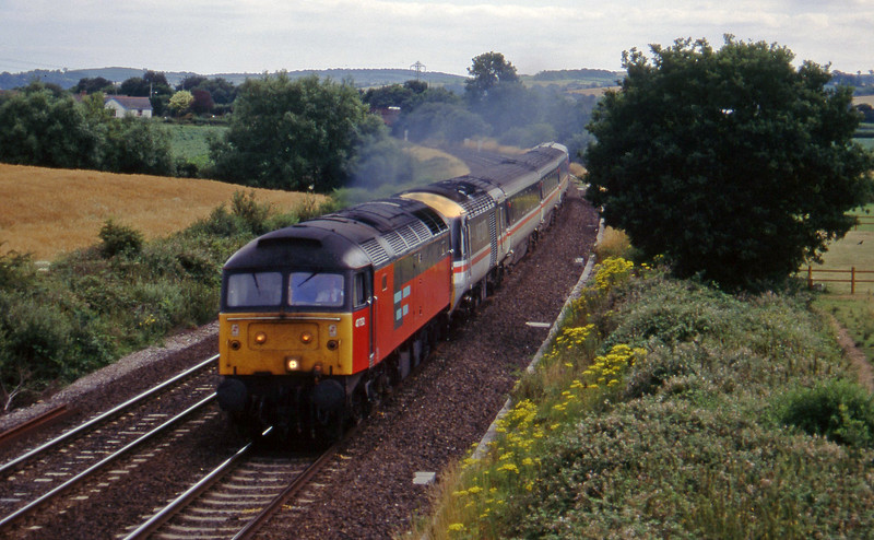 47732, up stock move, Willand, near Tiverton,19-7-95.