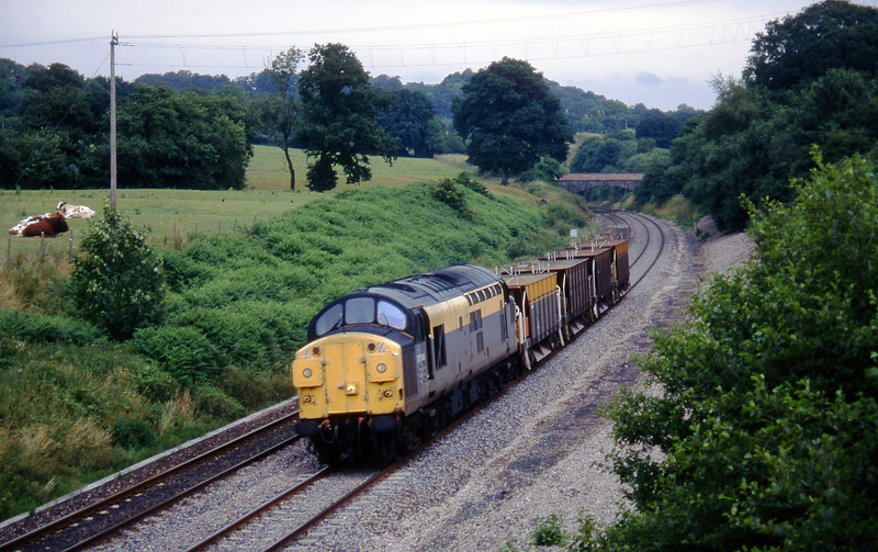 37046, 12.00 Westbury-Meldon Quarry, Whiteball, 11-7-95.