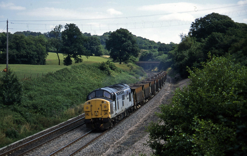 37051, 10.00 Westbury-Meldon Quarry, Whiteball, 20-7-95.