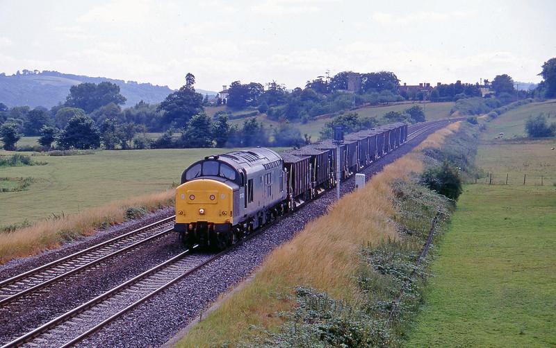 37072, 15.50 Exeter Riverside Yard-Westbury, Rewe, near Exeter, 11-7-95.