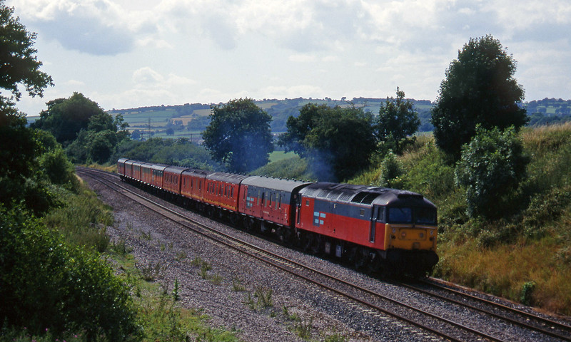 47628, 13.57 Plymouth-Crewe, Whiteball, 12-7-95.