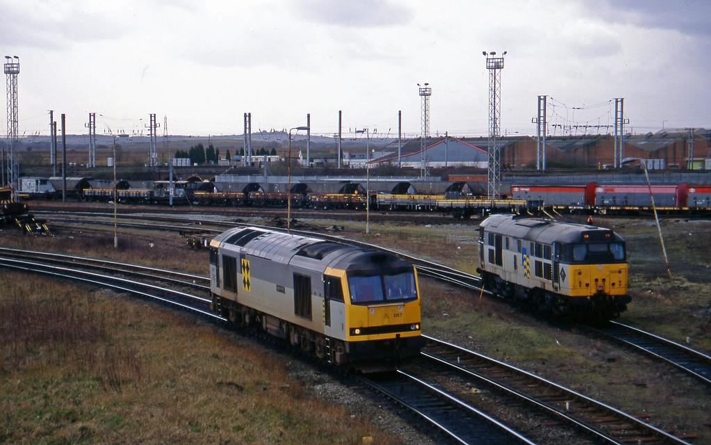 60057/31302, to Arpley Yard, Warrington, 17-3-95.