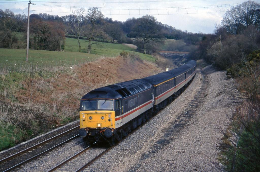 47812, 09.43 York-Exeter St David's Whiteball, 18-3-95.