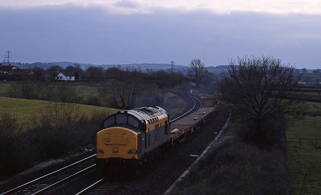 37146, up departmental, Willand, near Tiverton, 21-3-95.