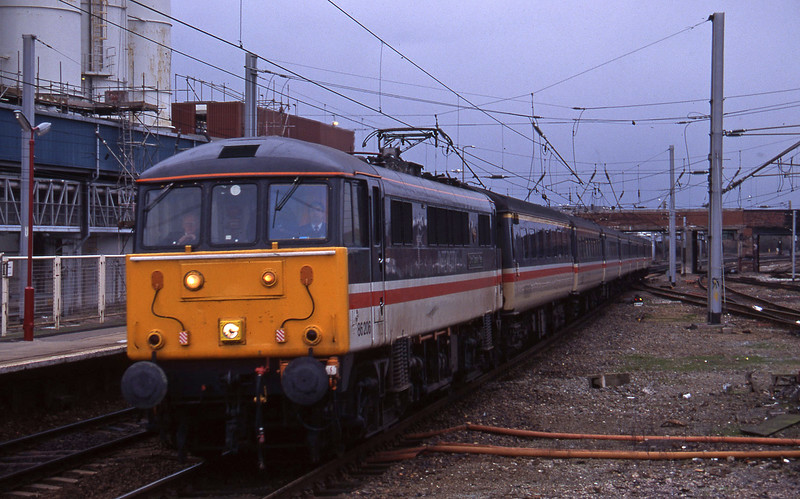 86206, up Reading-bound, Warrington, 17-3-95.