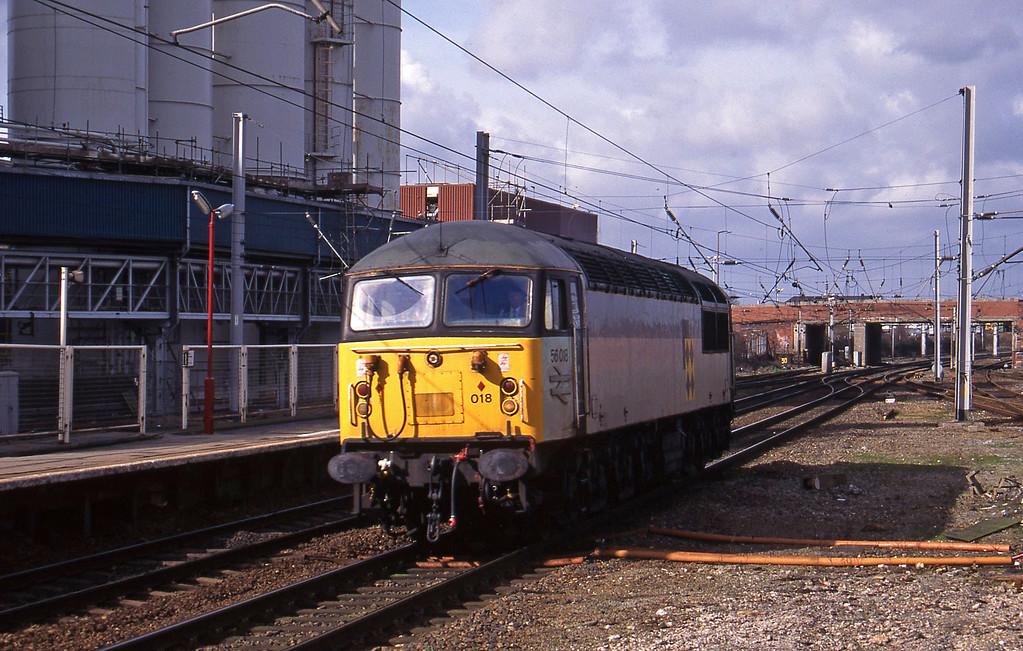 56018, up light, Warrington, 17-3-95.