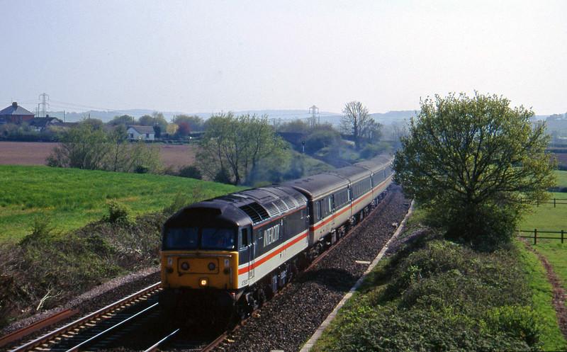 47805, 15.50 Exeter St David's-Sheffield, Willand, near Tiverton, 2-5-95.