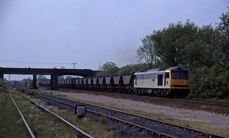 60006, down mgr, Stenson Junction, near Derby, 23-5-95.