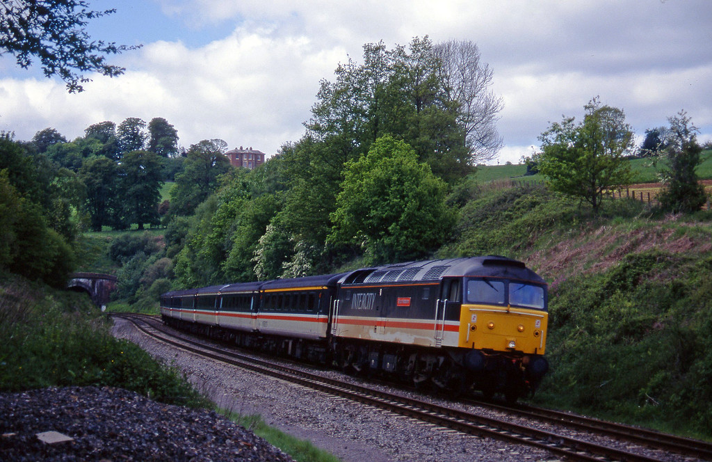 47831, 10.44 Plymouth-Manchester Piccadilly, Marlands, near Wellington, 20-5-95.