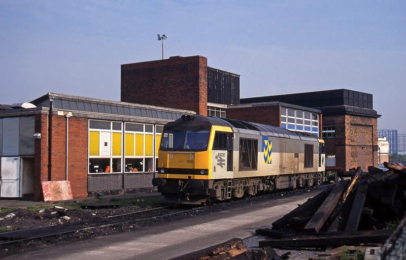 60030, stabled, Saltley, Birmingham, 23-5-95.