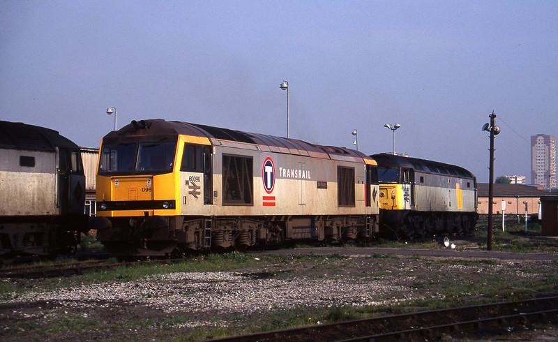 60096/47312, stabled,  Saltley, Birmingham, 23-5-95.