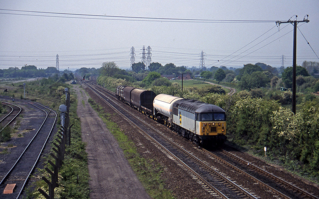 56088, Washwood Heath-Tees Yard, Stenson Junction, near Derby, 23-5-95.