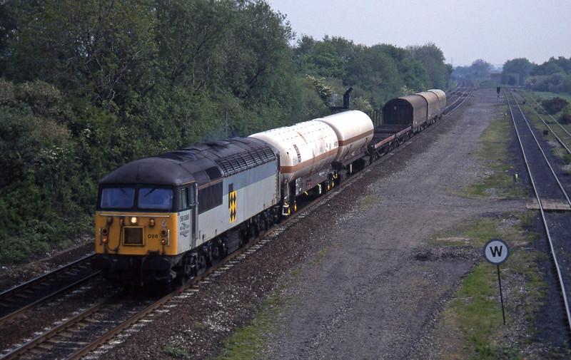 56088, Tees Yard-Washwood Heath, Stenson Junction, near Derby, 23-5-95.