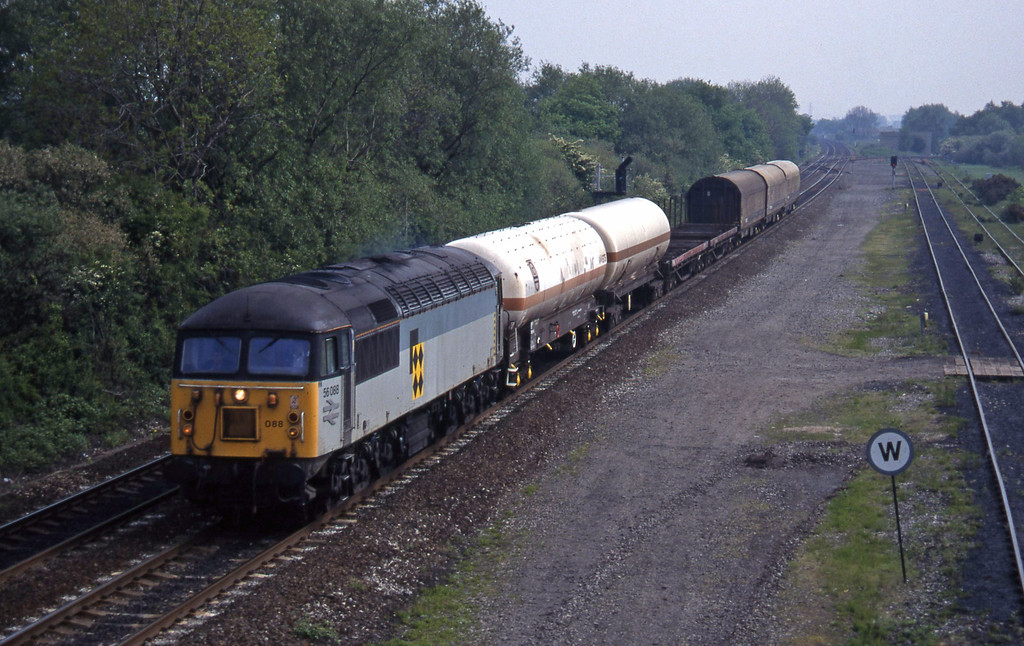 56088, Tees Yard-Washwood Heath, Stenson Junction, near Derby, 23-5-95.