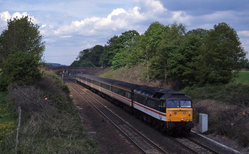 47829, 09.43 York-Exeter St David's, Willand, near Tiverton, 12-5-95.