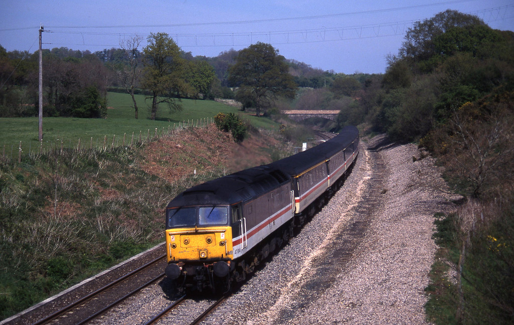 47814, 09.43 York-Exeter St David's, Whiteball, 3-5-95.