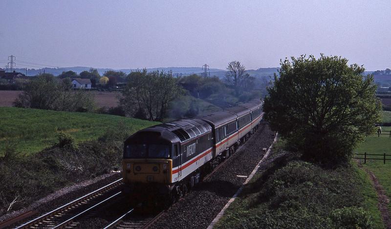 47805, 15.50 Exeter St David's-Sheffield, Willand, near Tiverton, 5-5-95.