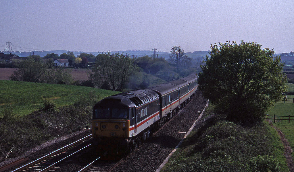 47805, 15.50 Exeter St David's-Sheffield, Willand, near Tiverton, 5-5-95.