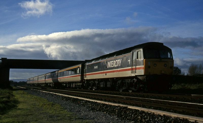 47825, 10.44 Plymouth-Manchester Piccadilly, Cogload, 22-11-95.