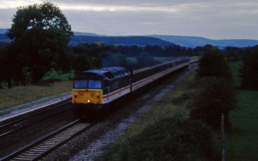 47810, 10.44 Plymouth-Manchester Piccadilly, Cogload, 18-10-95.