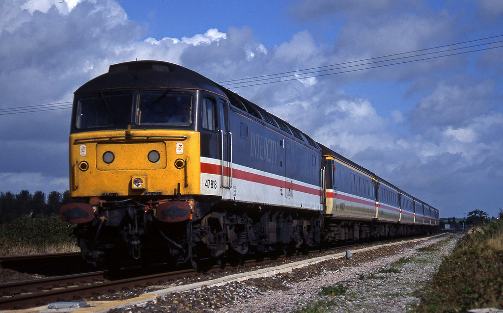 47818, 09.10 Liverpool Lime Street-Plymouth, Cogload, 4-10-95.
